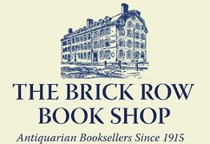 Brick Row Book Shop - Sponsor